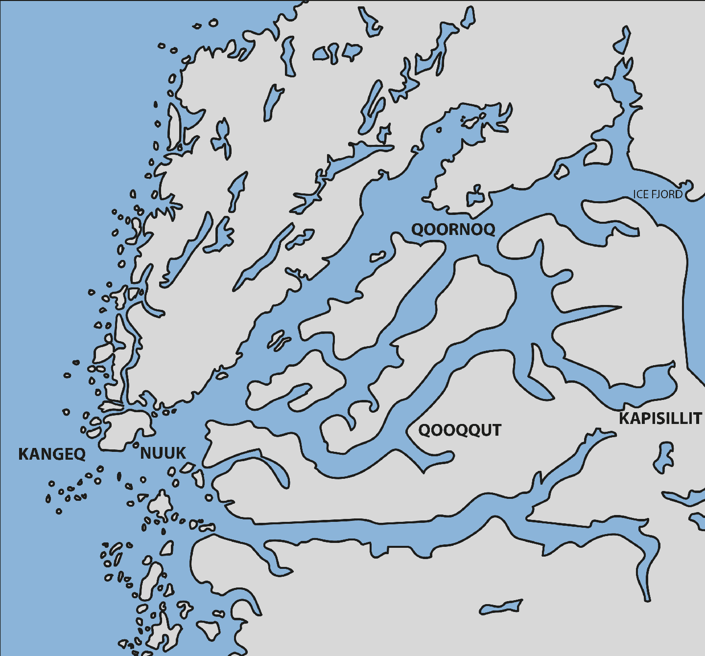 Click on the map and Explore Nuup Kangerlua